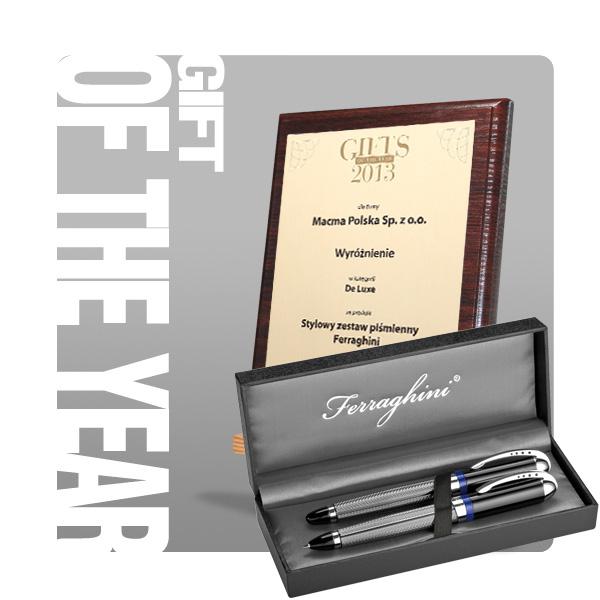 Gifts of the Year 2013 wyróżnienie w kategorii De Luxe