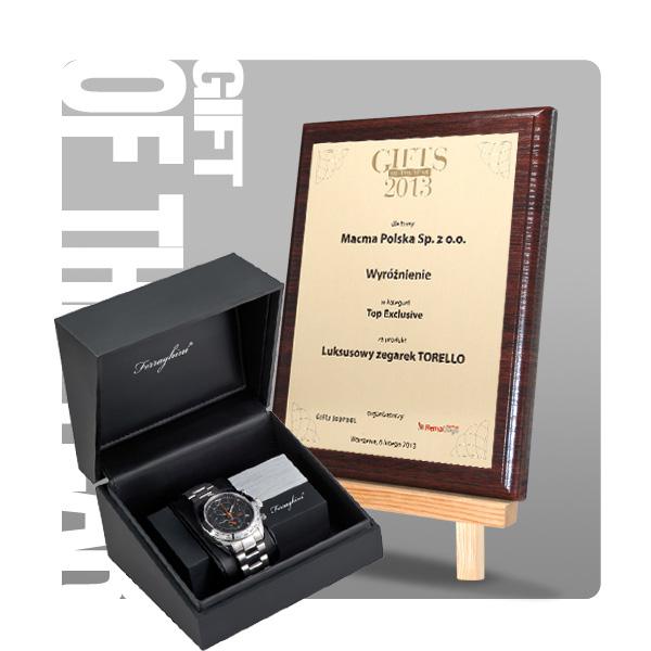 Gifts of the Year 2013 wyróżnienie w kategorii Top Exclusive