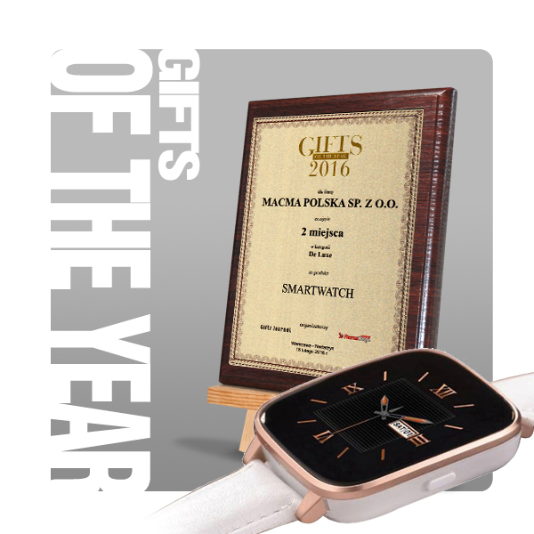 Gifts of the Year 2016 II miejsce w kat. De Luxe
