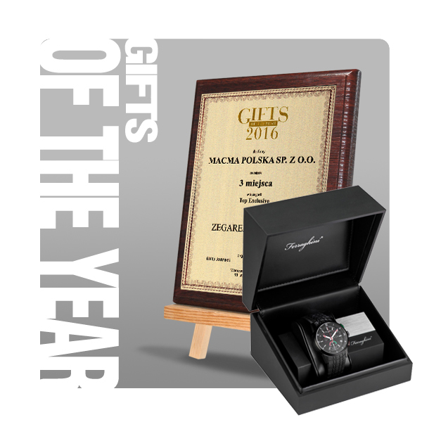 Gifts of the Year 2016 III miejsce w kat. Top Exclusive
