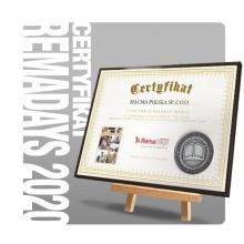 Srebrny Medal Catalogue of the Year 2020