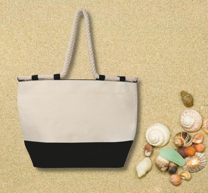 torba plażowa z logo marki