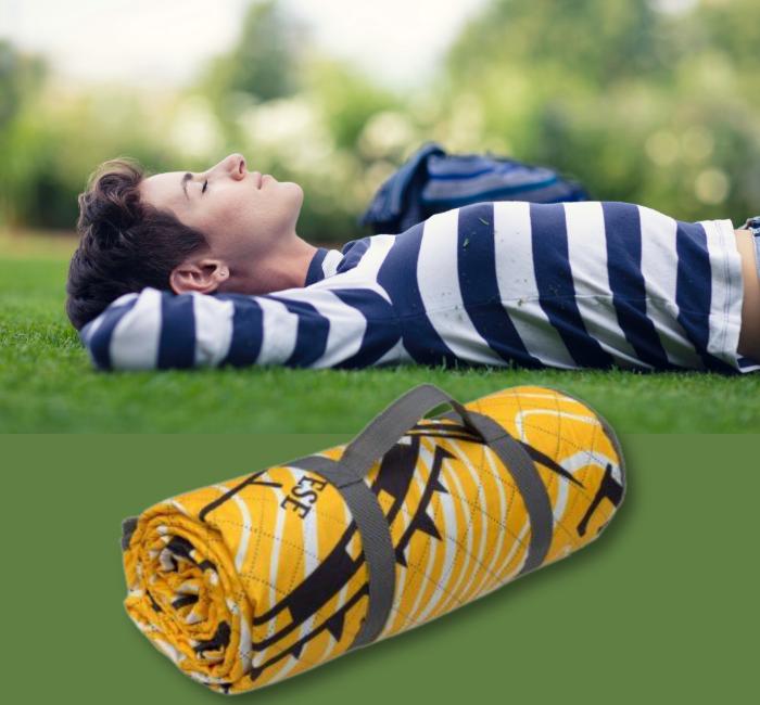 koc piknikowy z logo