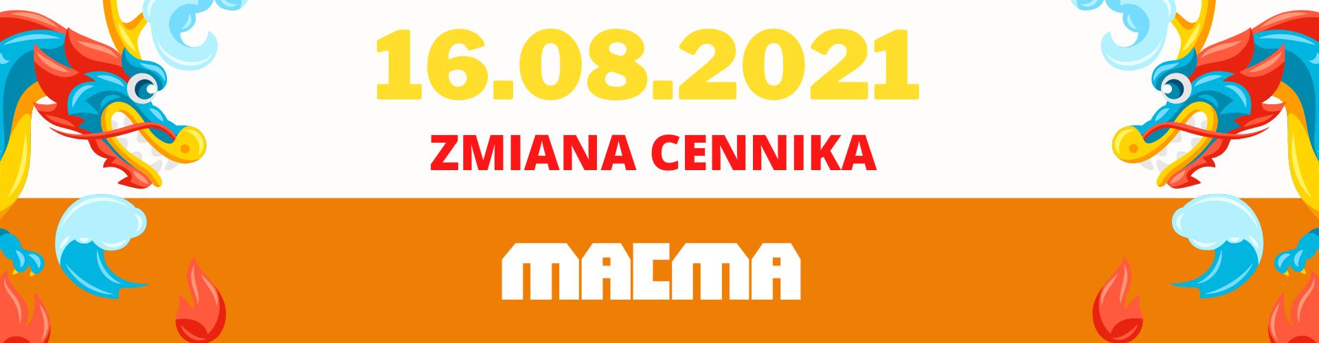 ZMiana cennika macma polska
