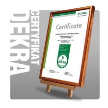 Certyfikat Dekra SVHC REACH