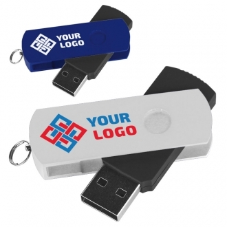 USB-Stick aus Metall und Plastik