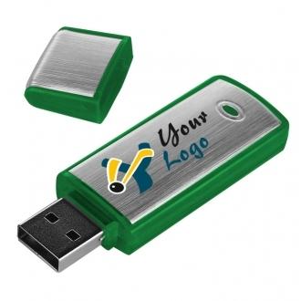 Metal and plastic USB stick