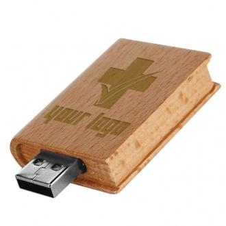 Wooden USB stick