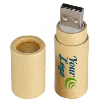 Cardboard USB stick