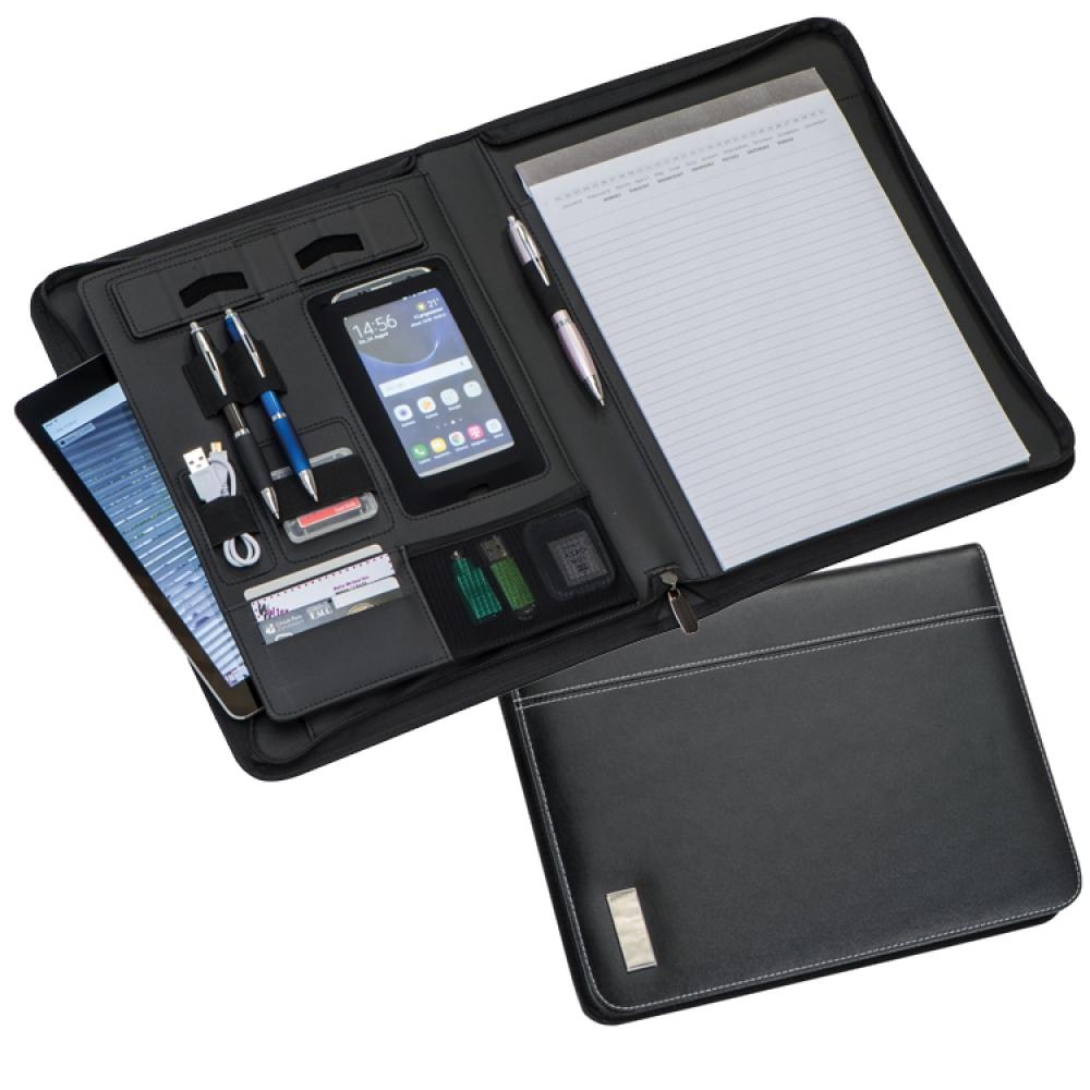Teczka konferencyjna A4 z kieszenią na tablet