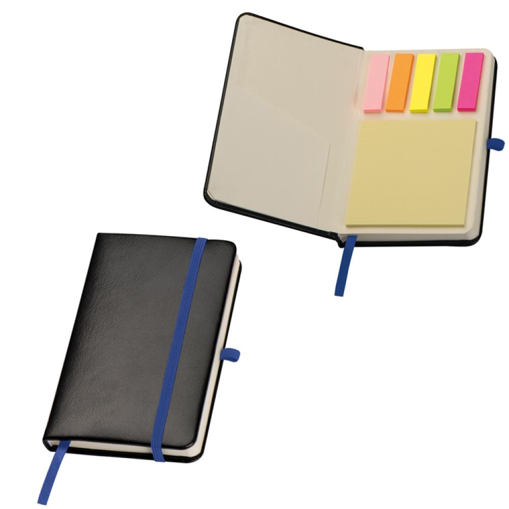 Notatnik A6 z karteczkami do markowania