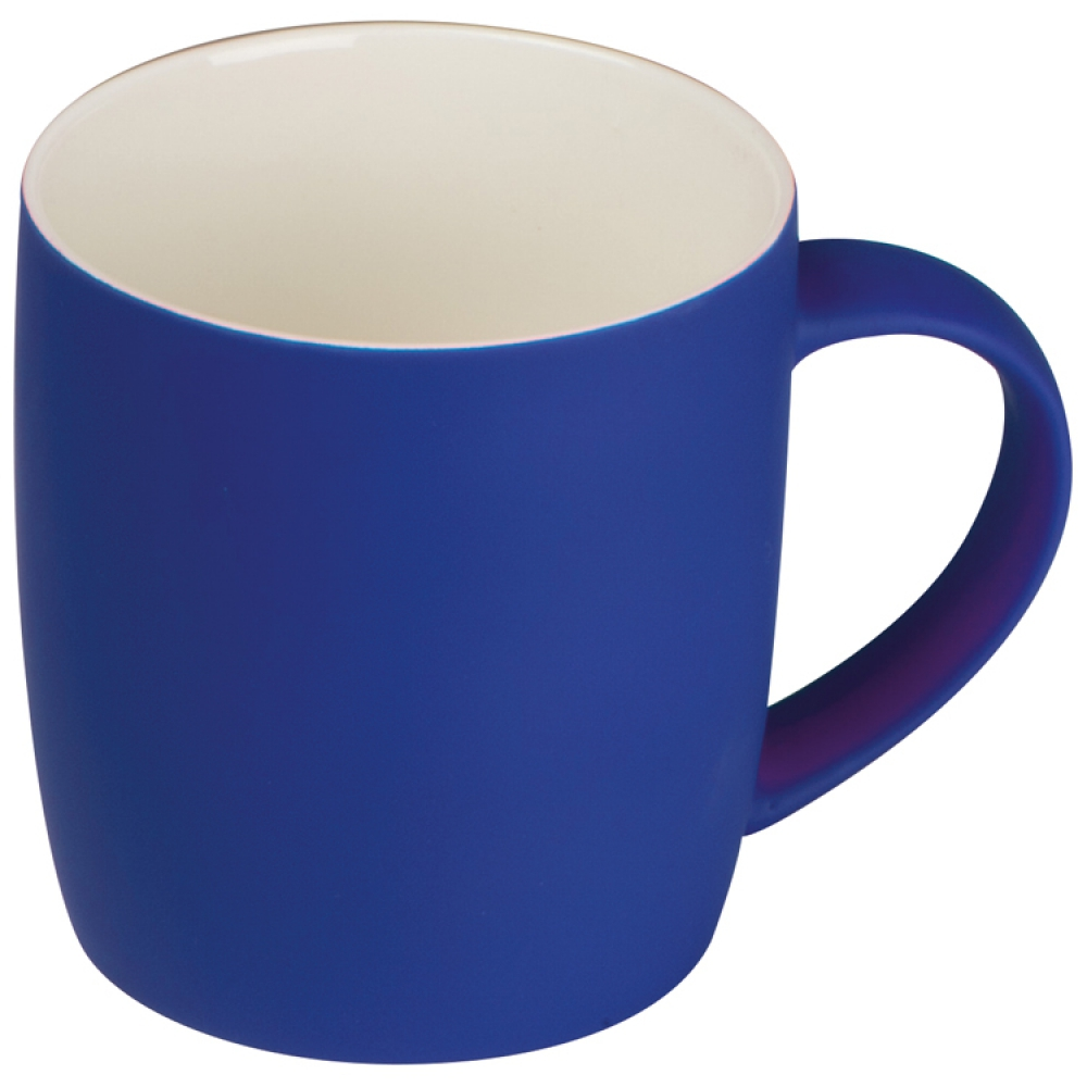Kubek ceramiczny - gumowany 300 ml