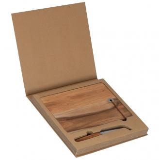 Deska i nóż do serów