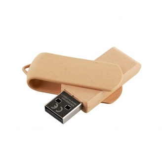Biodegradable USB memory stick – swivel