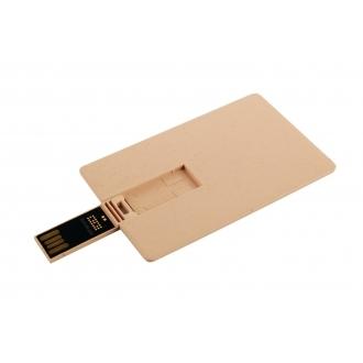 Biodegradable USB memory stick – big card