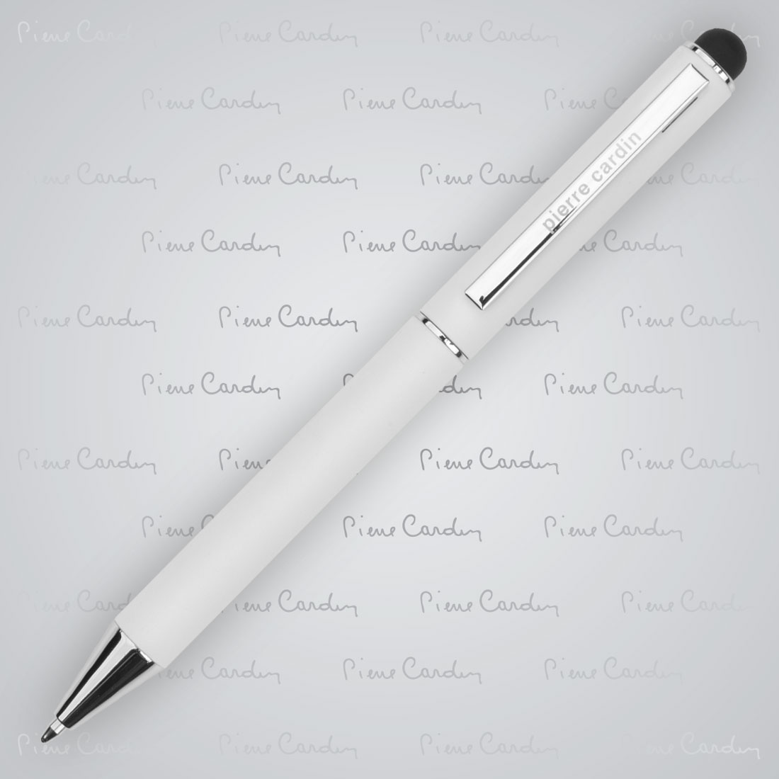 Długopis metalowy touch pen, soft touch CLAUDIE Pierre Cardin