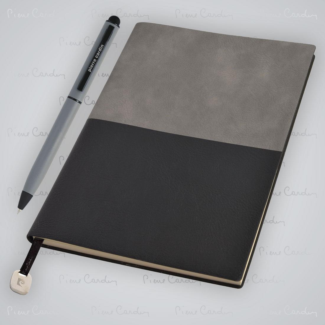 Notes A5 i długopis REPORTER Pierre Cardin