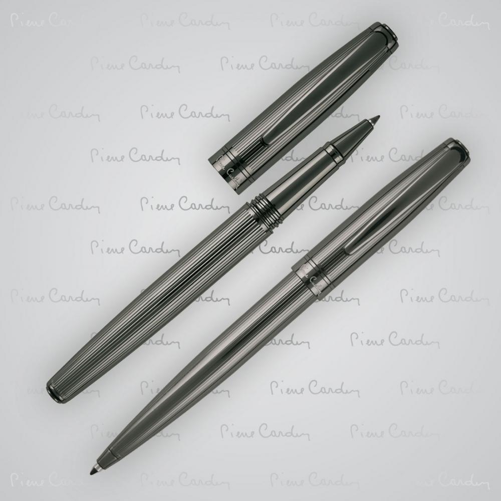 Zestaw piśmienny długopis i pióro kulkowe LAURENCE Pierre Cardin