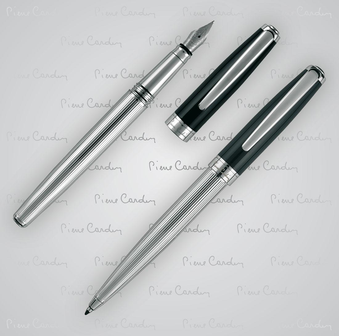 Zestaw piśmienny długopis i pióro wieczne CHRISTOPHE Pierre Cardin