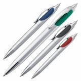 Długopis plastikowy z dwoma wkładami