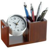 Zegar biurkowy z organizerem