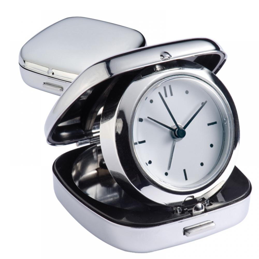 Zegar biurkowy z budzikiem