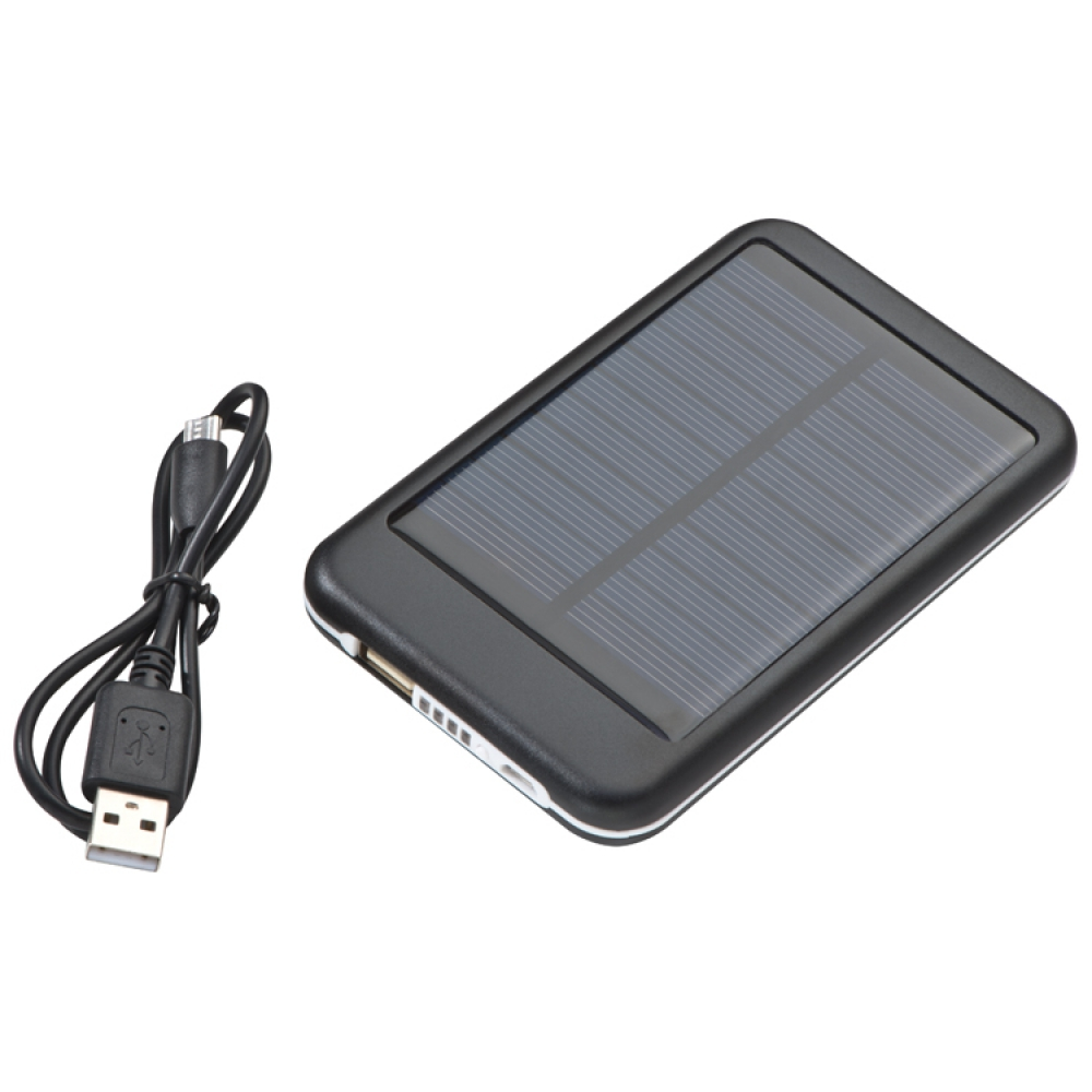 Power bank 4000 mAh - solarny