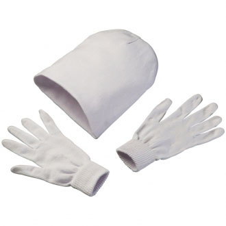 Czapka z rękawiczkami