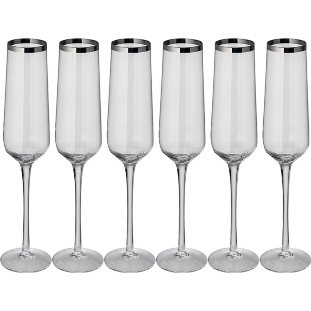 Zestaw kieliszków do szampana Ferraghini